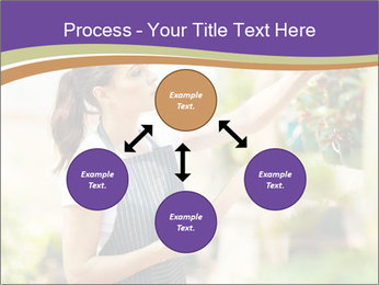 Florist checking flowers PowerPoint Templates - Slide 91