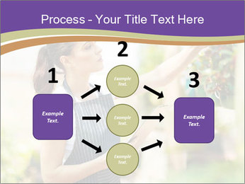 Florist checking flowers PowerPoint Template - Slide 92