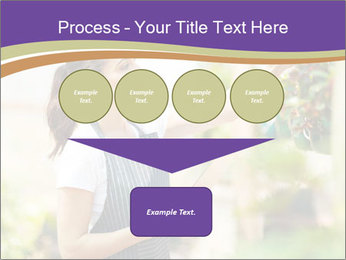 Florist checking flowers PowerPoint Template - Slide 93