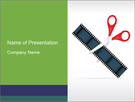 Video editing PowerPoint Templates