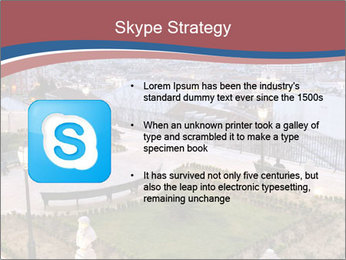 Sao Pedro de Alcantara Garden PowerPoint Templates - Slide 8