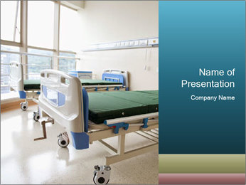 New hospital room PowerPoint Template