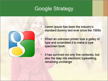 Woman talking on phone PowerPoint Template - Slide 10