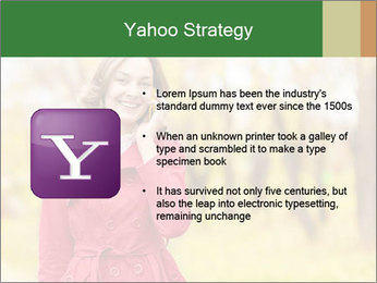 Woman talking on phone PowerPoint Template - Slide 11
