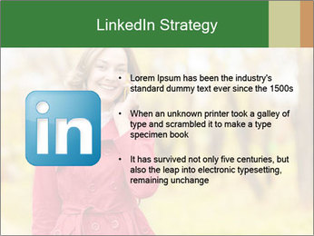 Woman talking on phone PowerPoint Template - Slide 12