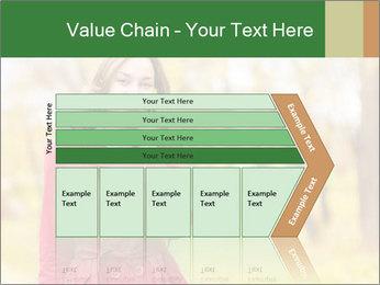 Woman talking on phone PowerPoint Template - Slide 27