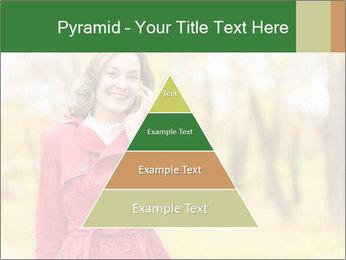 Woman talking on phone PowerPoint Template - Slide 30