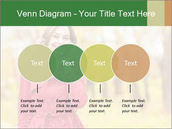 Woman talking on phone PowerPoint Template - Slide 32