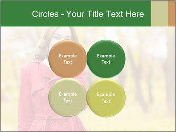 Woman talking on phone PowerPoint Template - Slide 38