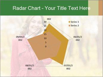 Woman talking on phone PowerPoint Template - Slide 51