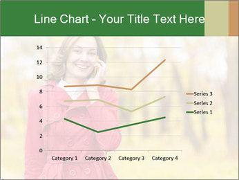 Woman talking on phone PowerPoint Template - Slide 54