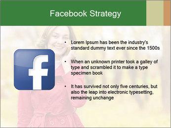 Woman talking on phone PowerPoint Template - Slide 6