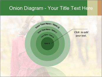 Woman talking on phone PowerPoint Template - Slide 61