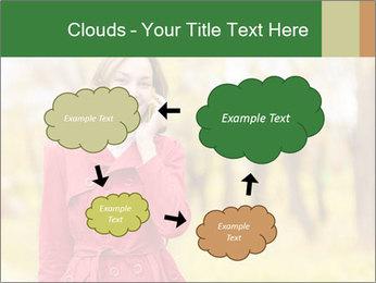 Woman talking on phone PowerPoint Templates - Slide 72
