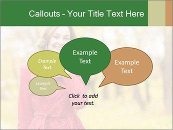 Woman talking on phone PowerPoint Templates - Slide 73