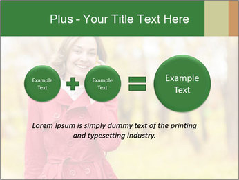 Woman talking on phone PowerPoint Templates - Slide 75