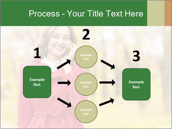 Woman talking on phone PowerPoint Template - Slide 92