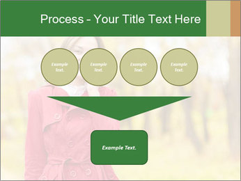 Woman talking on phone PowerPoint Templates - Slide 93