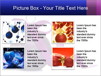 Christmas ball PowerPoint Template - Slide 14