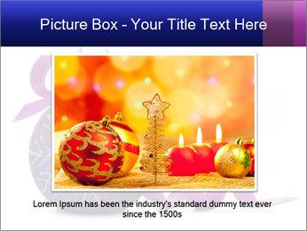 Christmas ball PowerPoint Template - Slide 15