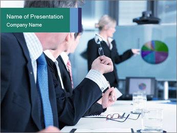 Business presentation PowerPoint Template - Slide 1