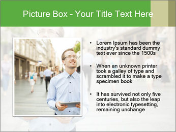 Tablet Computer in public space PowerPoint Templates - Slide 13