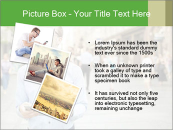 Tablet Computer in public space PowerPoint Templates - Slide 17