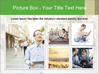Tablet Computer in public space PowerPoint Templates - Slide 19