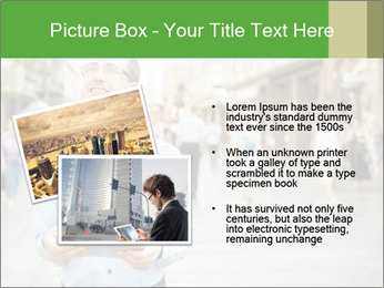 Tablet Computer in public space PowerPoint Templates - Slide 20