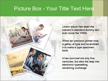 Tablet Computer in public space PowerPoint Templates - Slide 23