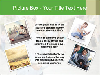 Tablet Computer in public space PowerPoint Templates - Slide 24