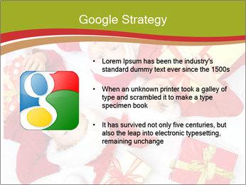 Three children in Christmas PowerPoint Templates - Slide 10