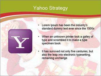 Three children in Christmas PowerPoint Templates - Slide 11