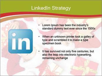 Three children in Christmas PowerPoint Templates - Slide 12
