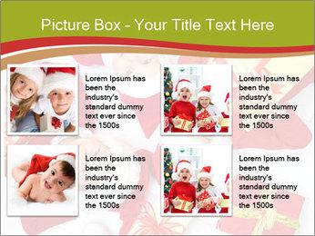 Three children in Christmas PowerPoint Templates - Slide 14