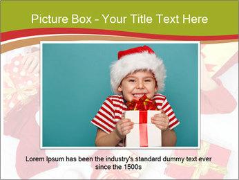 Three children in Christmas PowerPoint Templates - Slide 16