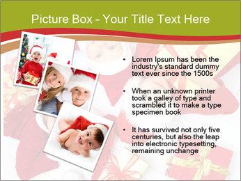 Three children in Christmas PowerPoint Templates - Slide 17