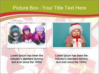 Three children in Christmas PowerPoint Templates - Slide 18