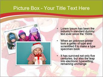 Three children in Christmas PowerPoint Templates - Slide 20
