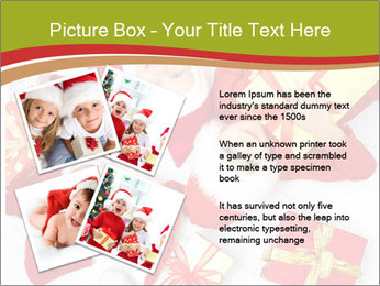 Three children in Christmas PowerPoint Templates - Slide 23