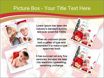 Three children in Christmas PowerPoint Templates - Slide 24