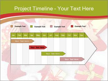 Three children in Christmas PowerPoint Templates - Slide 25