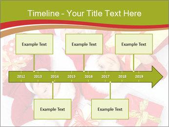 Three children in Christmas PowerPoint Templates - Slide 28