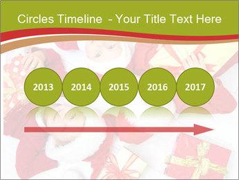 Three children in Christmas PowerPoint Templates - Slide 29