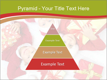 Three children in Christmas PowerPoint Templates - Slide 30