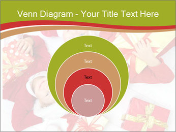 Three children in Christmas PowerPoint Templates - Slide 34