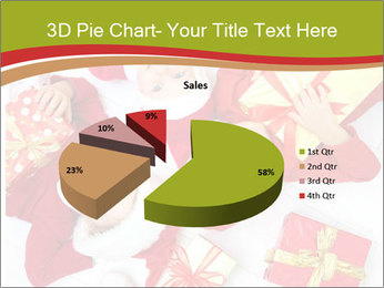 Three children in Christmas PowerPoint Templates - Slide 35