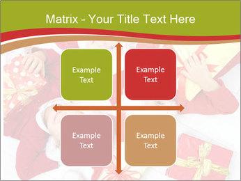 Three children in Christmas PowerPoint Templates - Slide 37