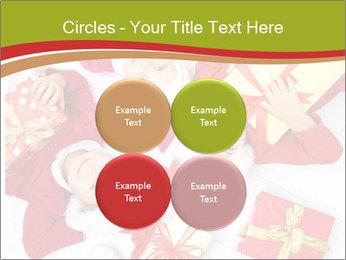 Three children in Christmas PowerPoint Templates - Slide 38
