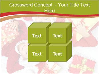 Three children in Christmas PowerPoint Templates - Slide 39